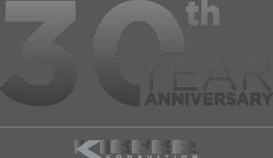 30 Year Anniversary Kiefer logo
