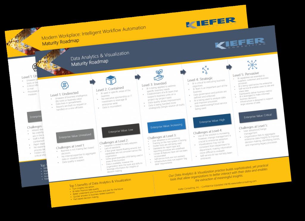 Image of a Kiefer Proprietary Maturity Roadmap