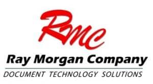 Logo for the Ray Morgan Company