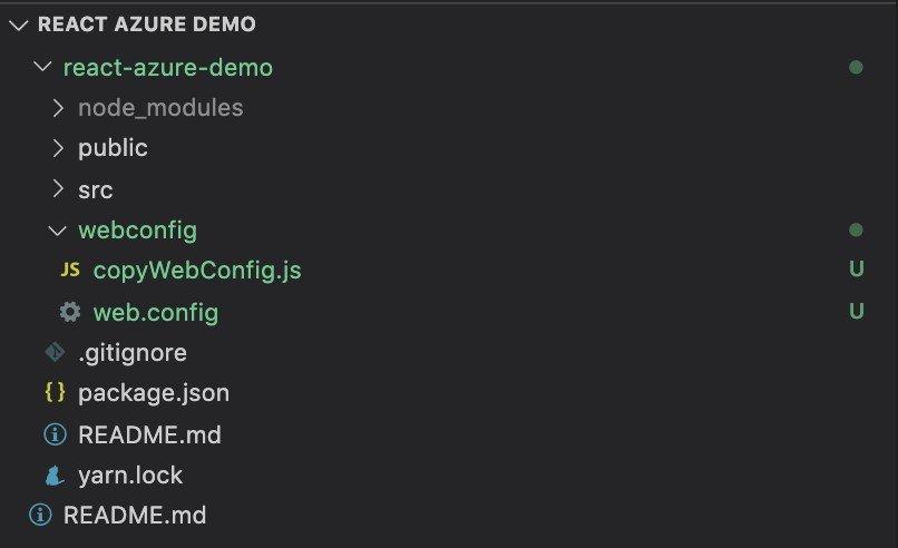 "Screenshot of WebConfig.js"" and ""web.config"""