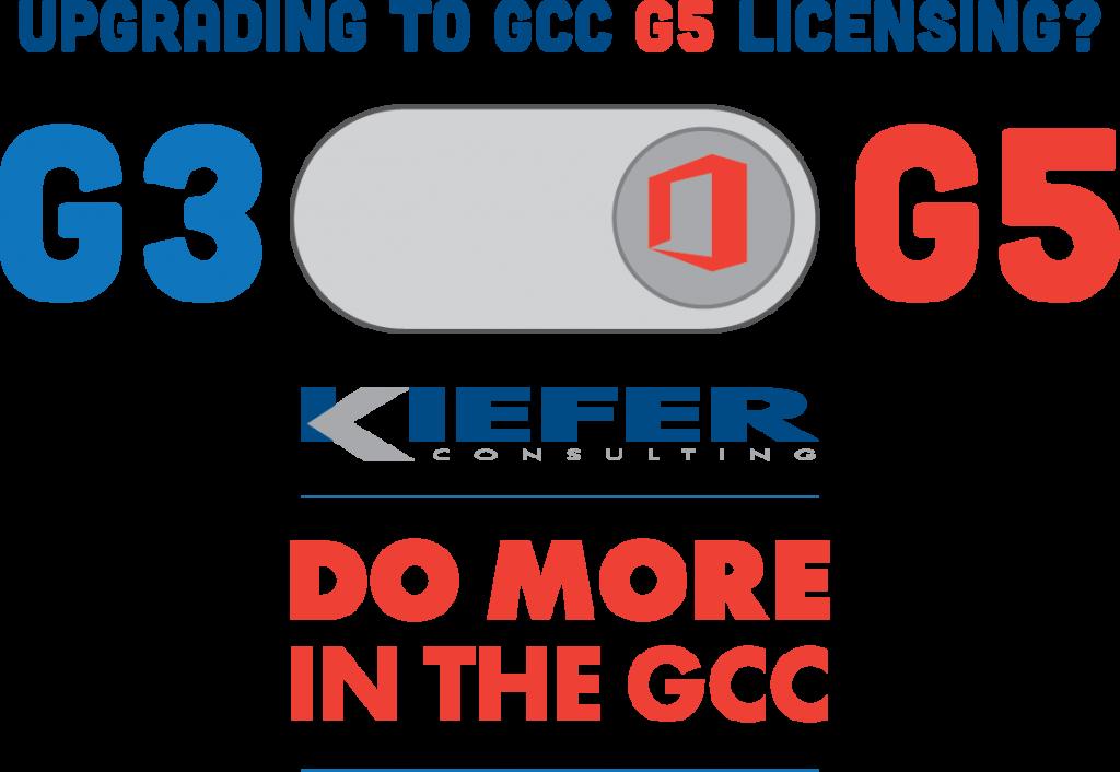 image showing upgrade to G5 licensing